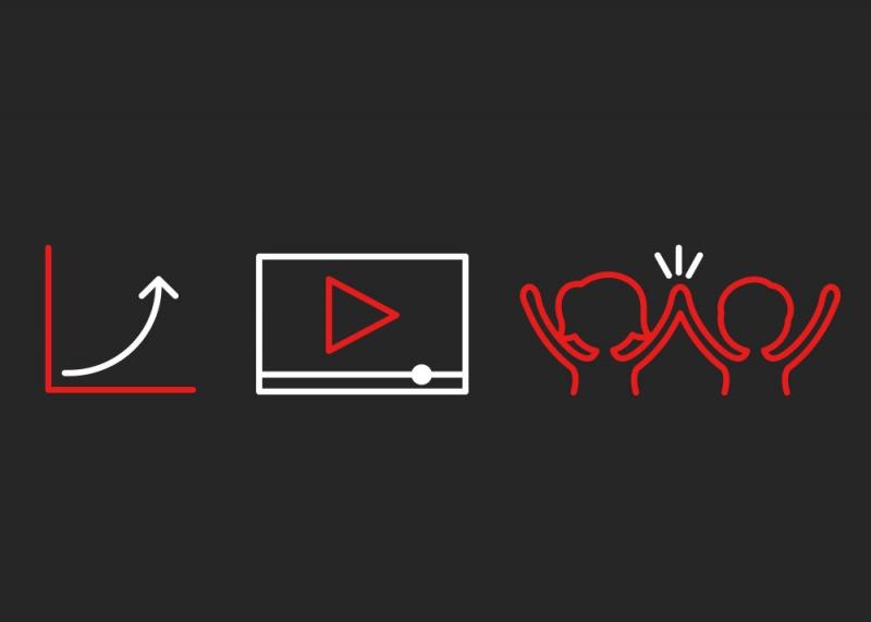 Outsource DK, Ikoner, download, konverteringer, opkald, kalender, video-visning, elevtilmeldinger, besøgende til åbent hus, investering, eksponering, facebook og adwords resultater