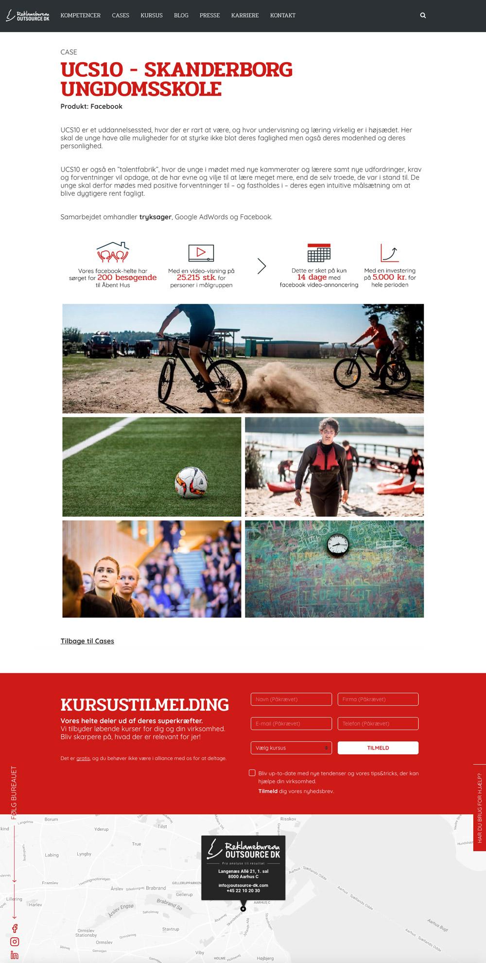 Outsource DK, ikoner brugt på underside ved resultat af facebook-kampagne, UCS10 - Skanderborg Ungdomsskole